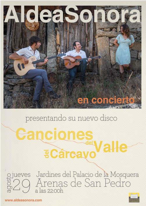 Aldea Sonora en Concierto en Arenas de San Pedro - TiétarTeVe