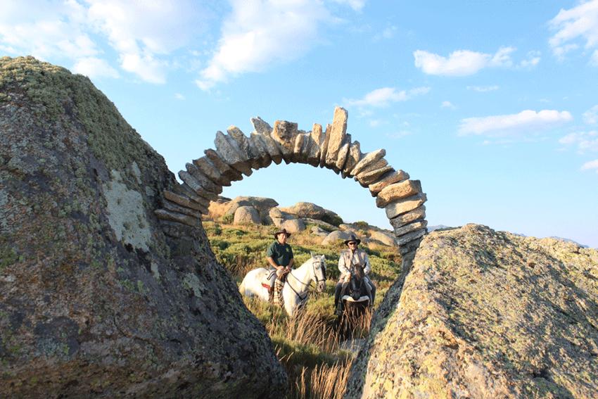 Inauguración La Cimbra en el Cerro Gallinero de Hoyocasero - TiétarTeVe