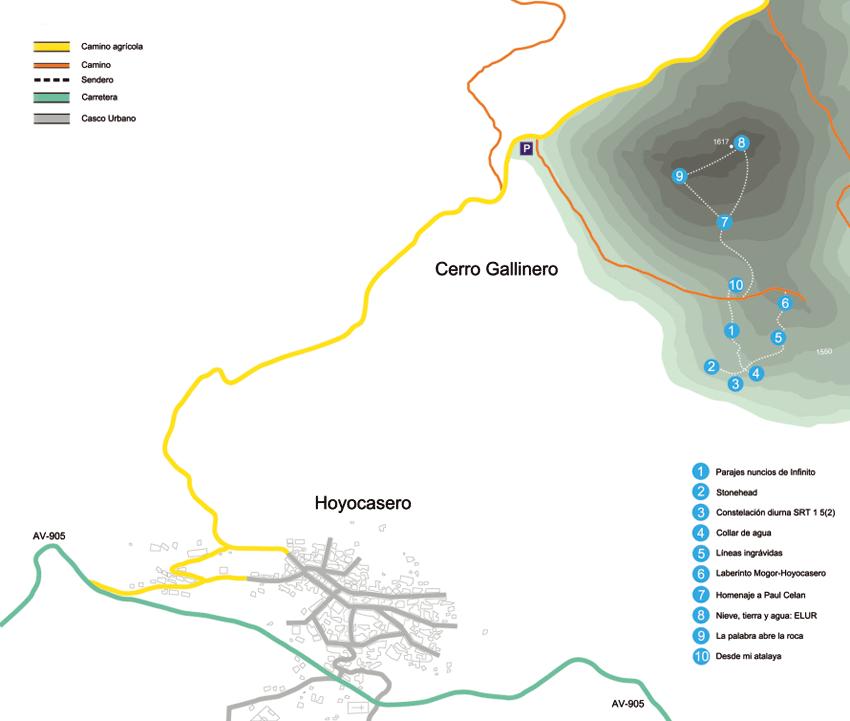 Cómo llegar al Cerro Gallinero de Hoyocasero - TiétarTeVe