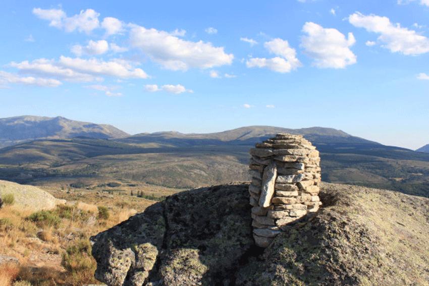"""""""Stonehead"""" en el Cerro Gallinero de Hoyocasero - TiétarTeVe"""