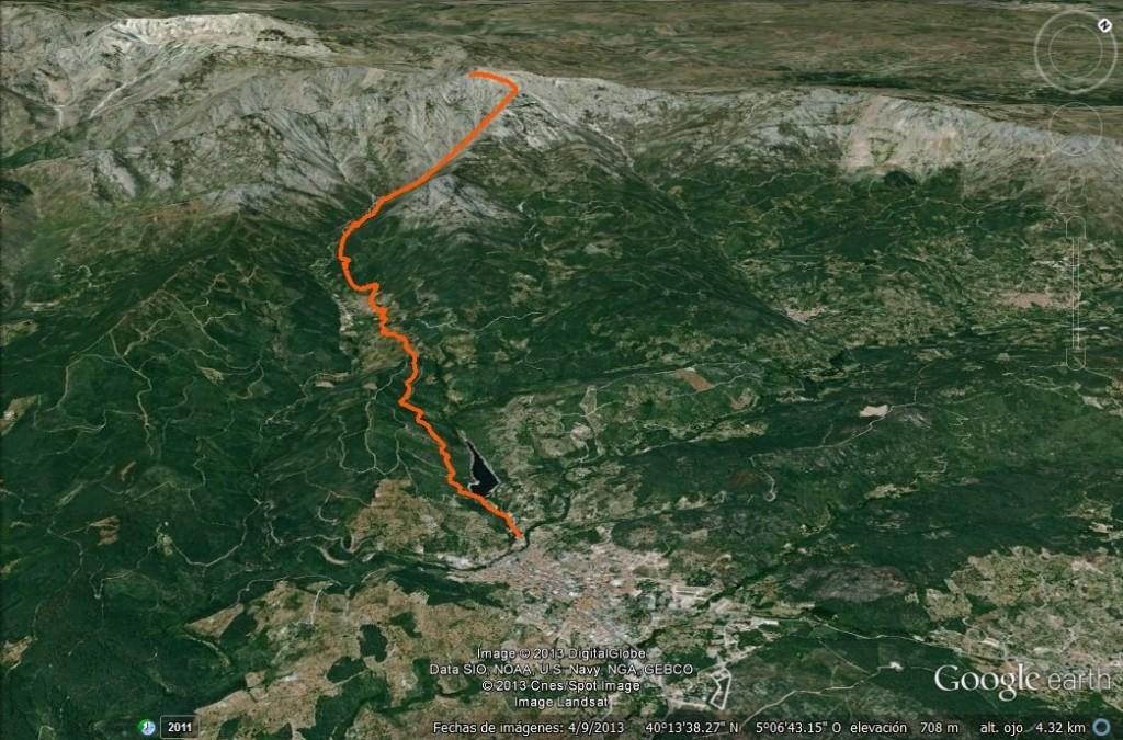 Corriendo desde Arenas al Pico de la Mira - Arenas de San Pedro - TiétarTeVe