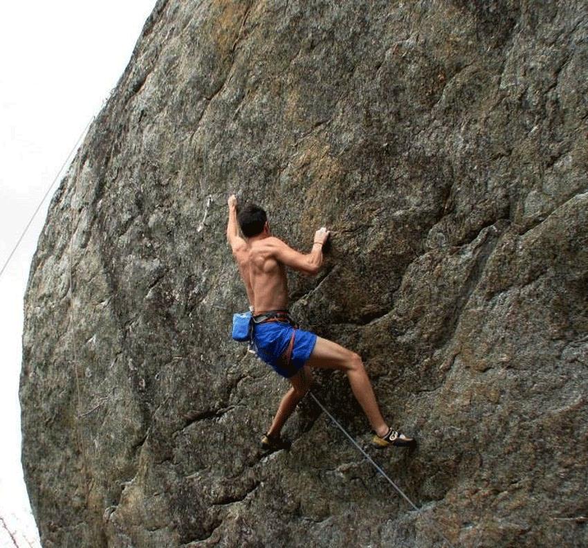 Pablo Vázquez Cobos - Escalada de Grado 8a - TiétarTeVe