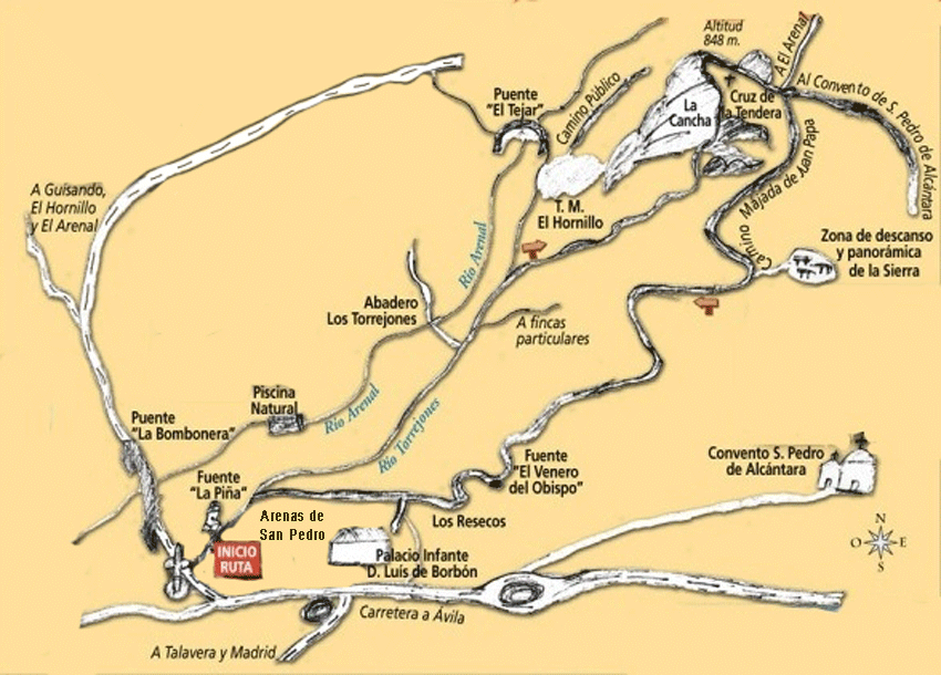 Ruta Los Torrejones - Arenas de San Pedro