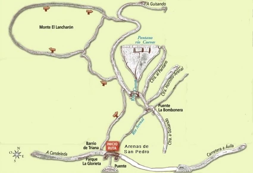 Ruta Triana - Lancharón - Arenas de San Pedro