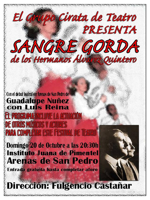 Sangre Gorda en Arenas de San Pedro - TiétarTeVe