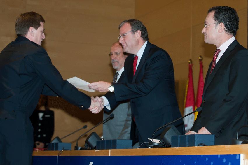 Entrega medallas Protección Civil y Policía Local Castilla y León - TiétarTeVe