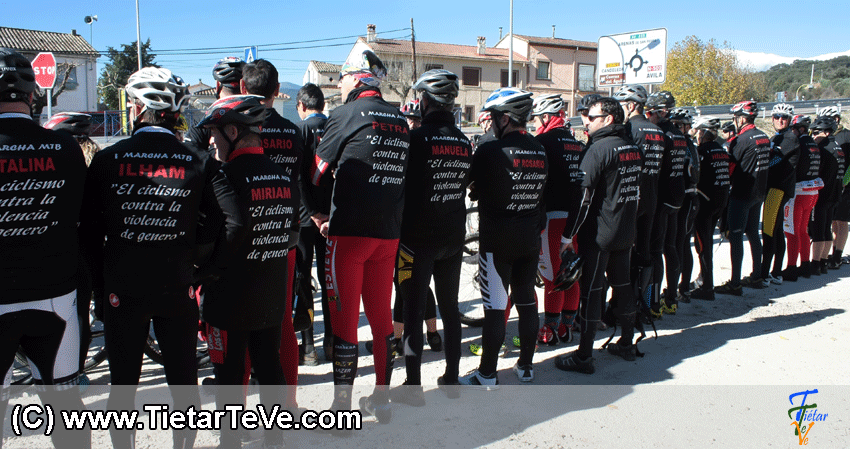 I Marcha MTB Contra la Violencia de Género de Arenas de San Pedro - TiétarTeVe