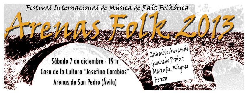 I Festival Arenas Folk de Arenas de San Pedro - TiétarTeVe