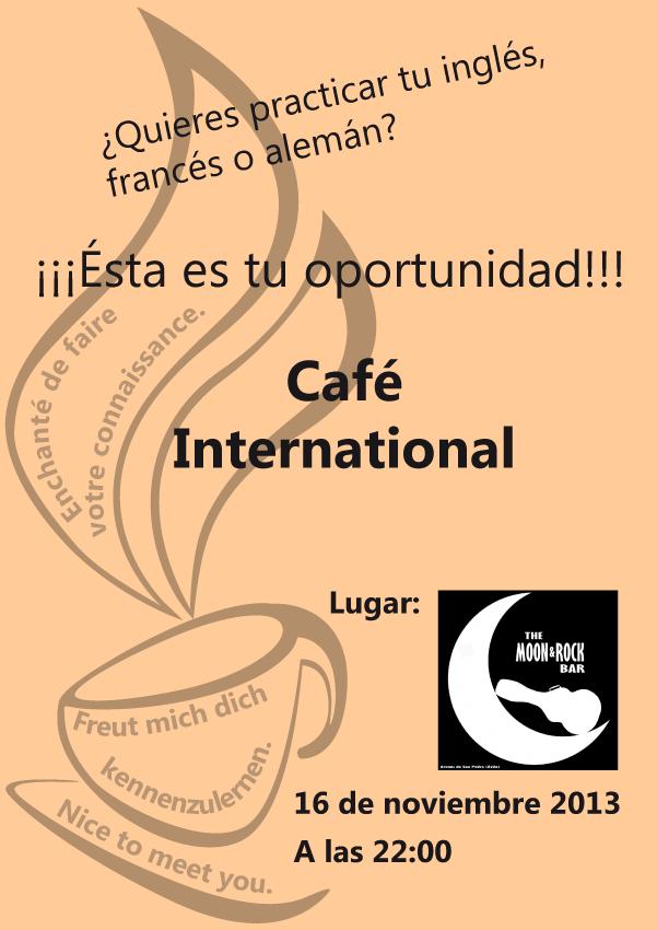 Café Internacional para la práctica de idiomas en Arenas de San Pedro - TiétarTeVe