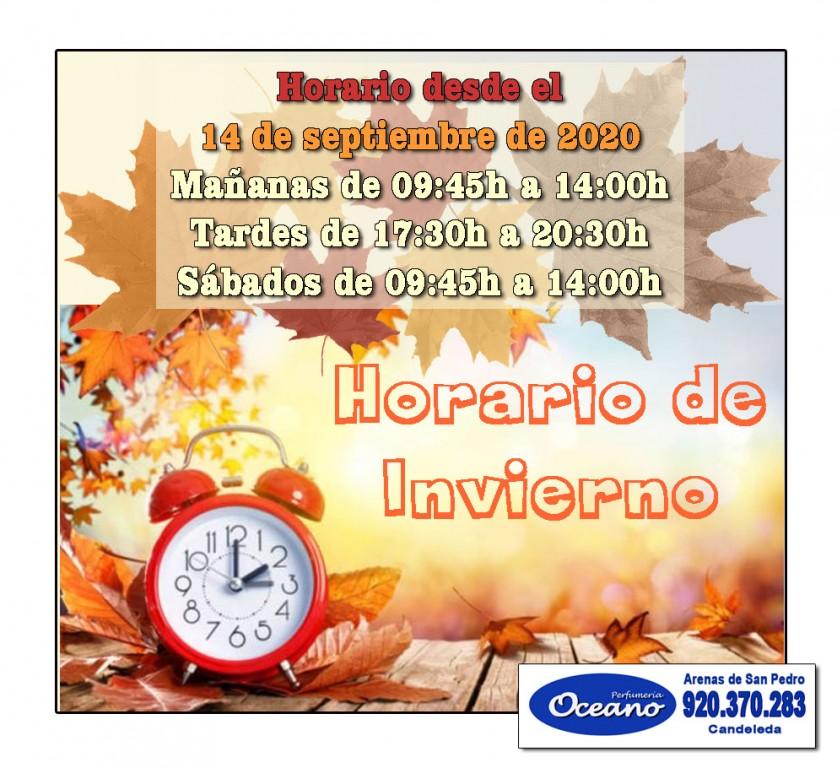 2020-09-14 Horario Oceano - Arenas de San Pedro - Candeleda - TiétarTeVe
