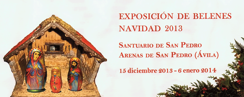 Exposición de Belenes 2013 de Arenas de San Pedro - TiétarTeVe