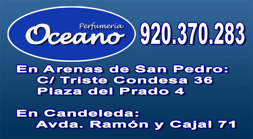 Tarjeta Perfumería Océano en Arenas de San Pedro y Candeleda - TiétarTeVe