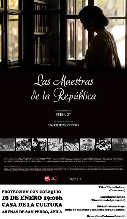 Las Maestras de la República en Arenas de San Pedro - TiétarTeVe