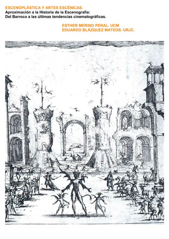 Portada del Libro Escenoplástica de Eduardo Blázquez y Esther Merino