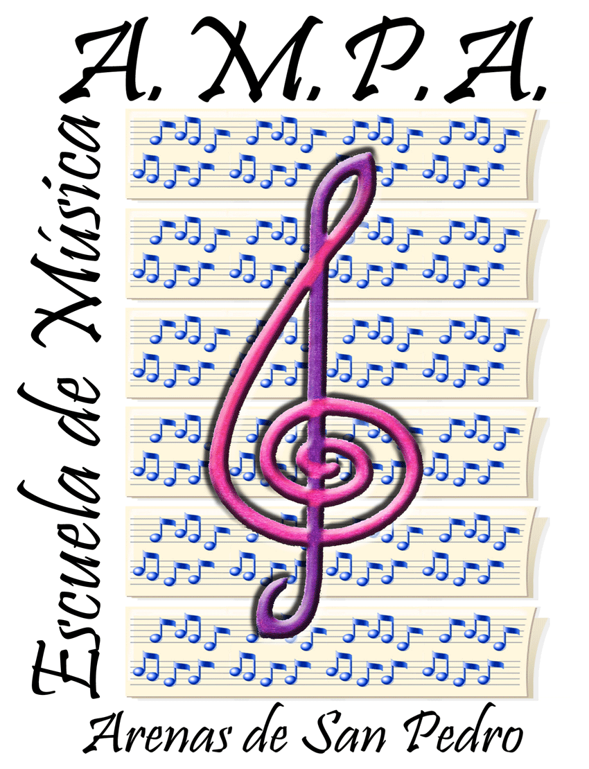 Logotipo AMPA Escuela Municipal de Música Luigi Boccherini de Arenas de San Pedro - TiétarTeVe