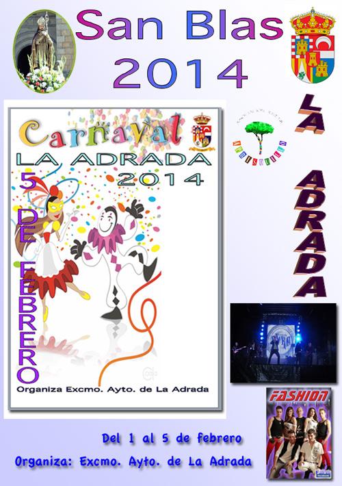 San Blas y Carnaval en La Adrada - 2014