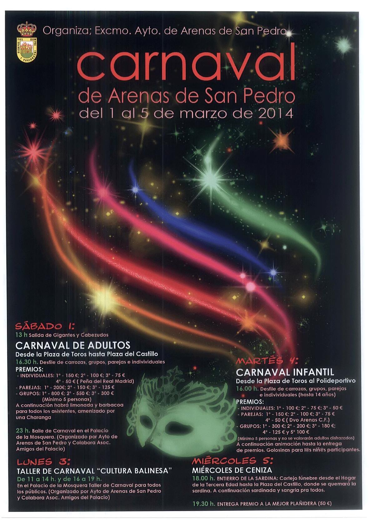 Carnaval en Arenas de San Pedro 2014 - TiétarTeVe