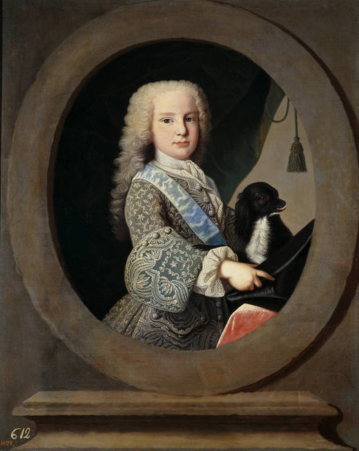 El Infante don Luis de Borbón niño