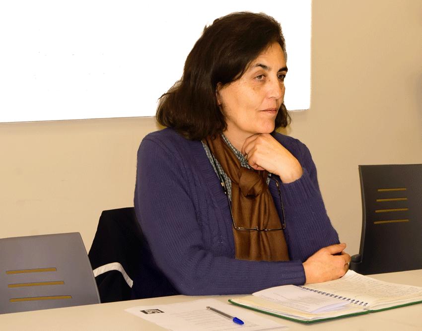 Teresa López Alija, coordinadora local de IU de Arenas de San Pedro - TiétarTeVe