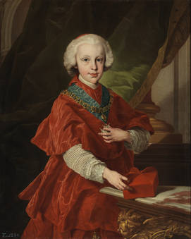 Luis de Borbón y Farnesio - Cardenal