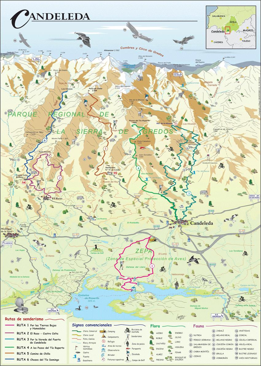 Mapa-Rutas-Candeleda