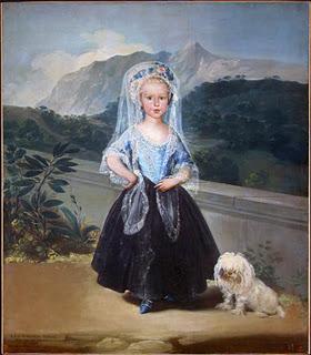 Condesa de Chinchón en el Palacio de la Mosquera de Arenas de San Pedro - Goya