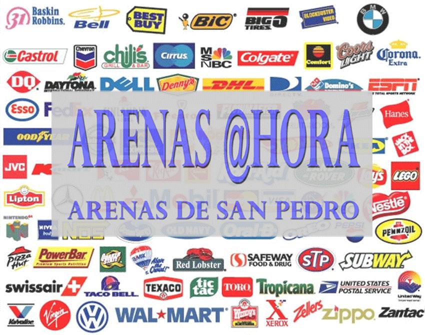 Concurso Logotipo ARENAS @HORA - Arenas de San Pedro - TiétarTeVe