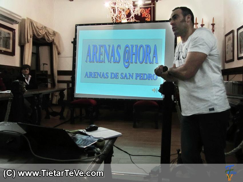 Presentación Plataforma Ciudadana ARENAS @HORA de Arenas de San Pedro - TiétarTeVe
