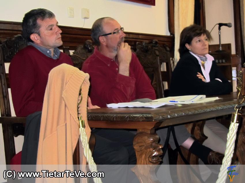 Responsables de los Grupos de Trabajo de la Plataforma Ciudadana Arenas @hora: Cultura, Turismo y Comercio e Industria - TiétarTeVe