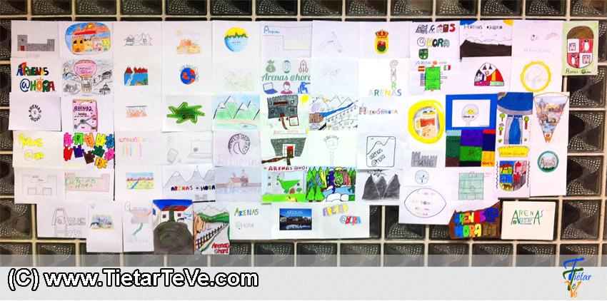 Propuestas del Concurso del Logotipo de ARENAS AHORA de Arenas de San Pedro - TiétarTeVe