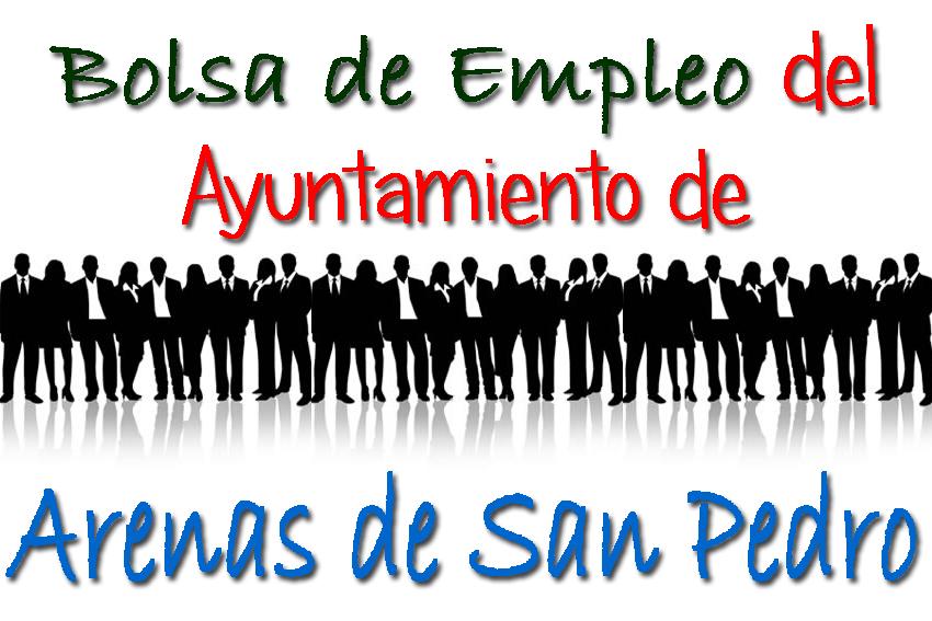 Bolsa de Empleo del Ayuntamiento de Arenas de San Pedro - TiétarTeVe