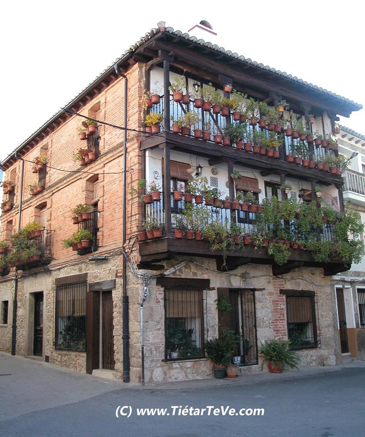 """I Concurso de Ventanas y Balcones """"Candeleda Floral"""" - TiétarTeVe"""