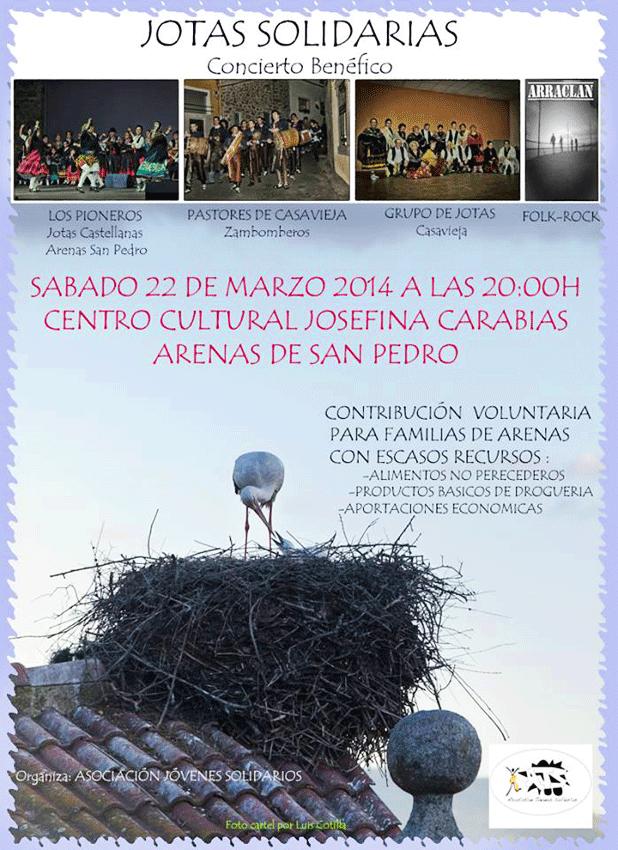 Jotas Solidarias en Arenas de San Pedro - TiétarTeVe