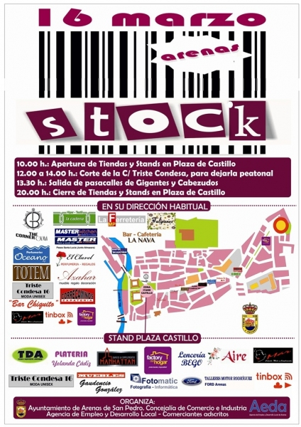 Arenas Stock - 16 de Marzo de 2014 - Arenas de San Pedro - TiétarTeVe