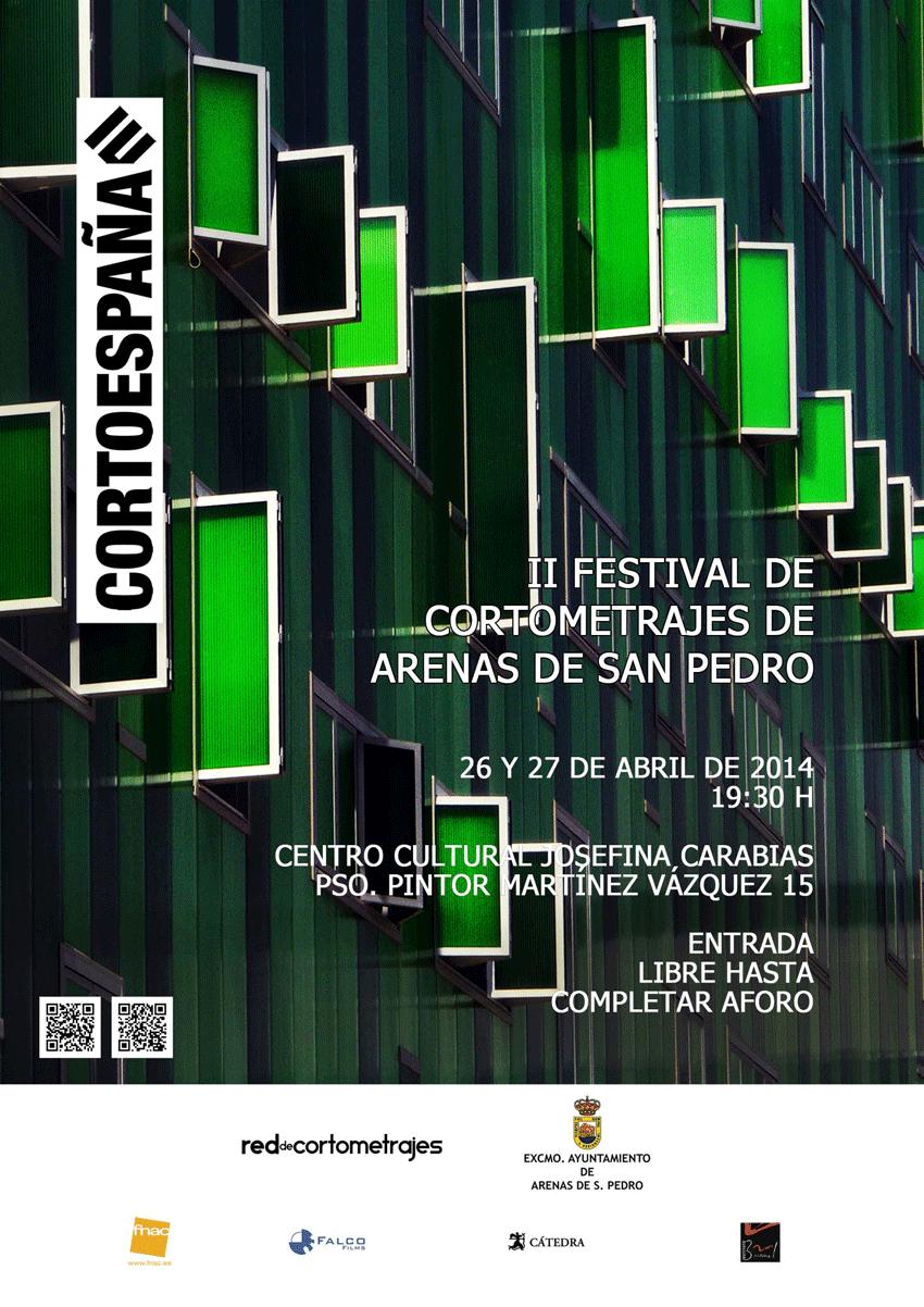 CortoEspaña en Arenas de San Pedro - Festival de Cortos - TiétarTeVe