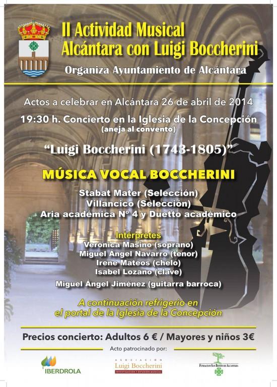 II Alcántara con Luigi Boccherini - TiétarTeVe