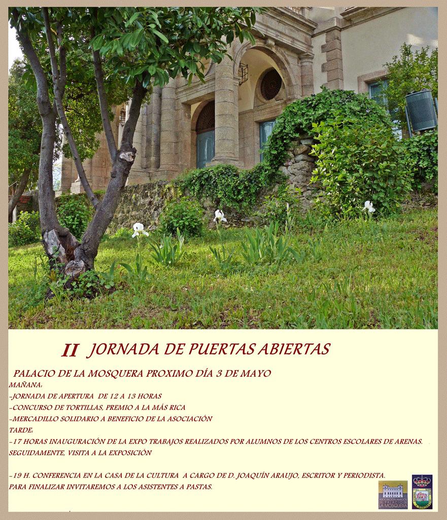 II Jornadas de Puertas Abiertas Palacio de la Mosquera de Arenas de San Pedro - TiétarTeVe