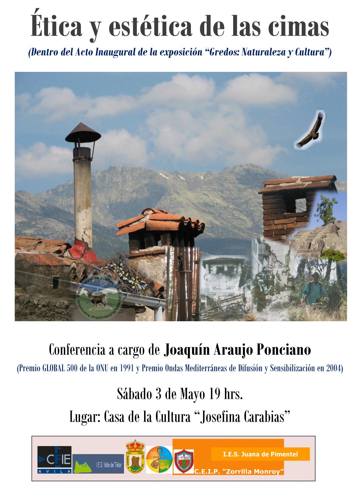 Conferencia de Joaquín Araujo en Arenas de San Pedro - TiétarTeVe