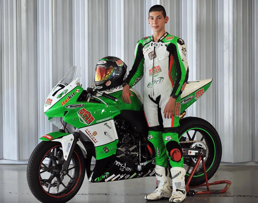 Josué Moreno competirá en Imola en la European Junior Cup - TiétarTeVe