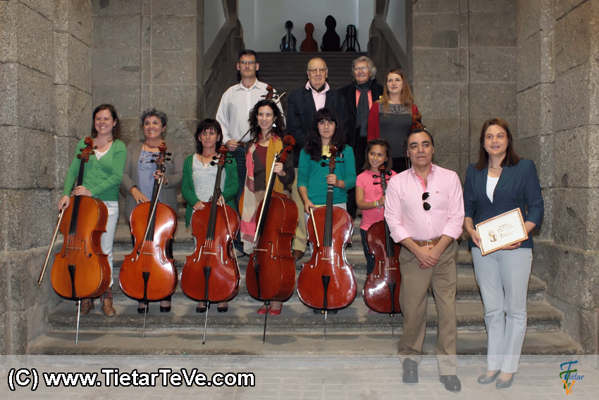 Entrega de Diplomas en los Encuentros Pedagógicos del Festival Luigi Boccherini - TiétarTeVe
