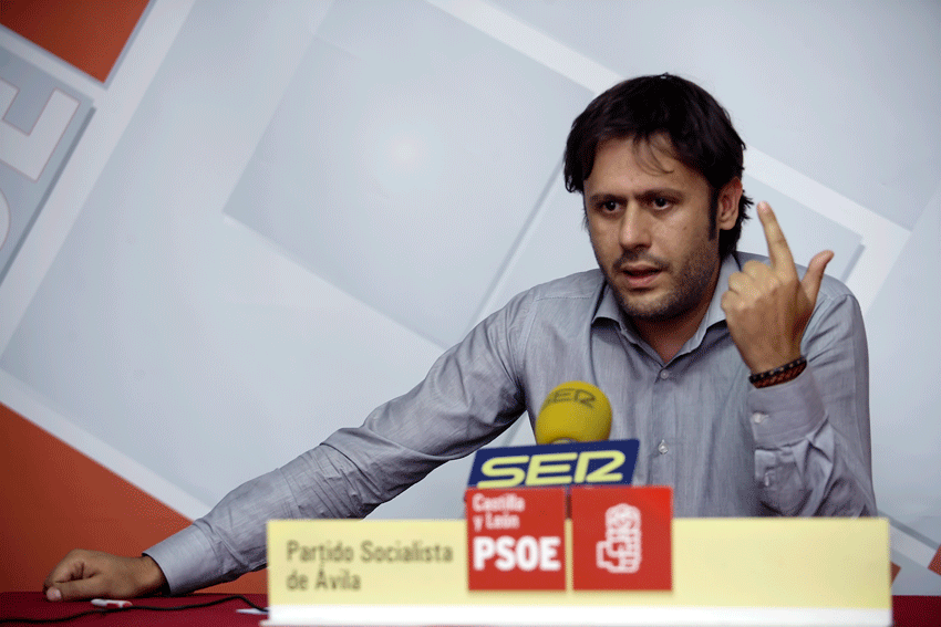 Óscar Tapias del PSOE de Arenas de San Pedro - Política Social - TiétarTeVe