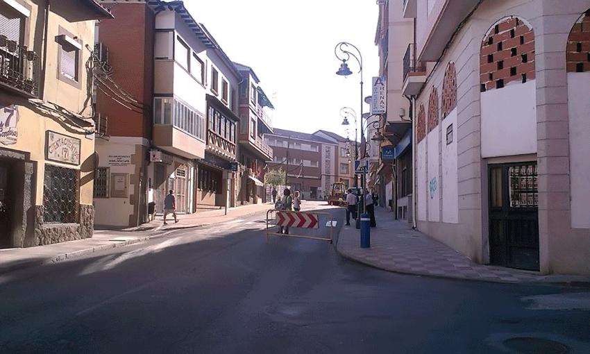 Obras en la Triste Condesa de Arenas de San Pedro - Gas Natural - TiétarTeVe