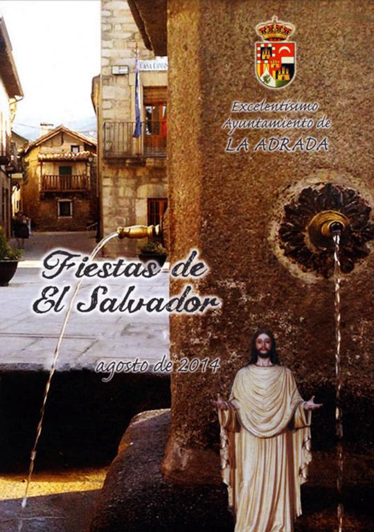 Fiestas de El Salvador en La Adrada - TiétarTeVe