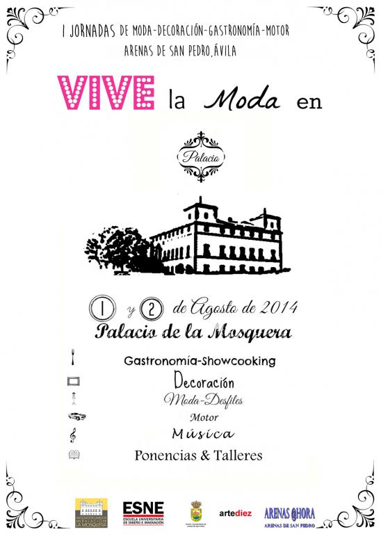 Vive la Moda en Palacio - Arenas de San Pedro - TiétarTeVe