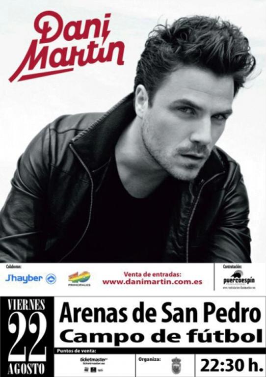 Dani Martín en Arenas de San Pedro - TiétarTeVe