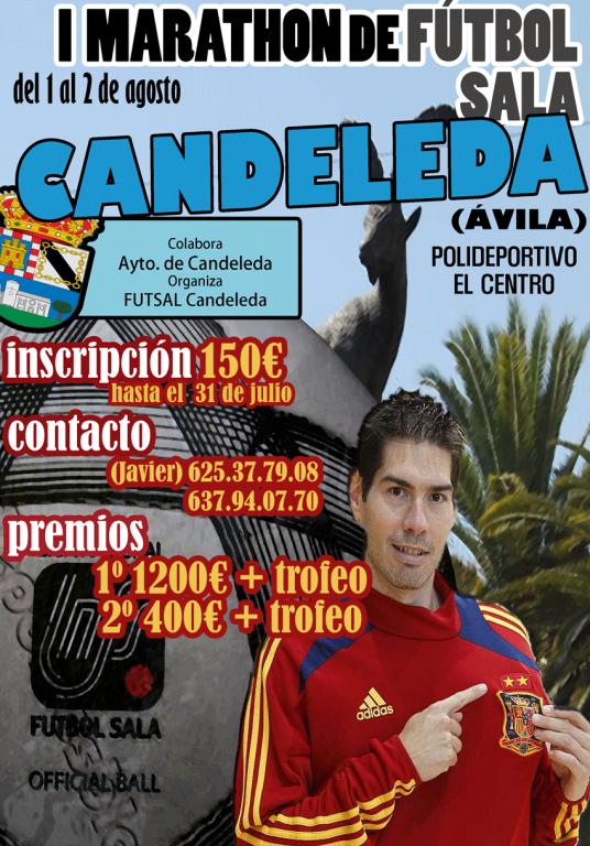 I Maratón de Fútbol de Candeleda - TiétarTeVe