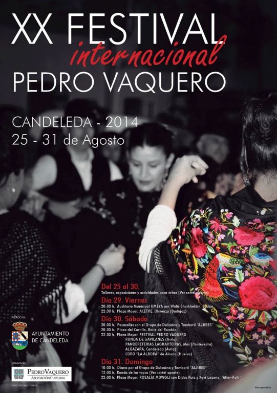 XX Festival de Folklore Pedro Vaquero de Candeleda - TiétarTeVe