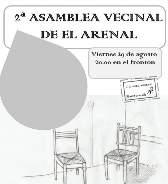Asamblea de Vecinos de El Arenal - TiétarTeVe
