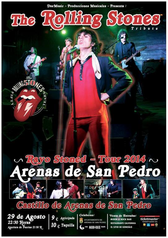 Tributo a The Rolling Stones - Rayo Stoned - Arenas de San Pedro - TiétarTeVe