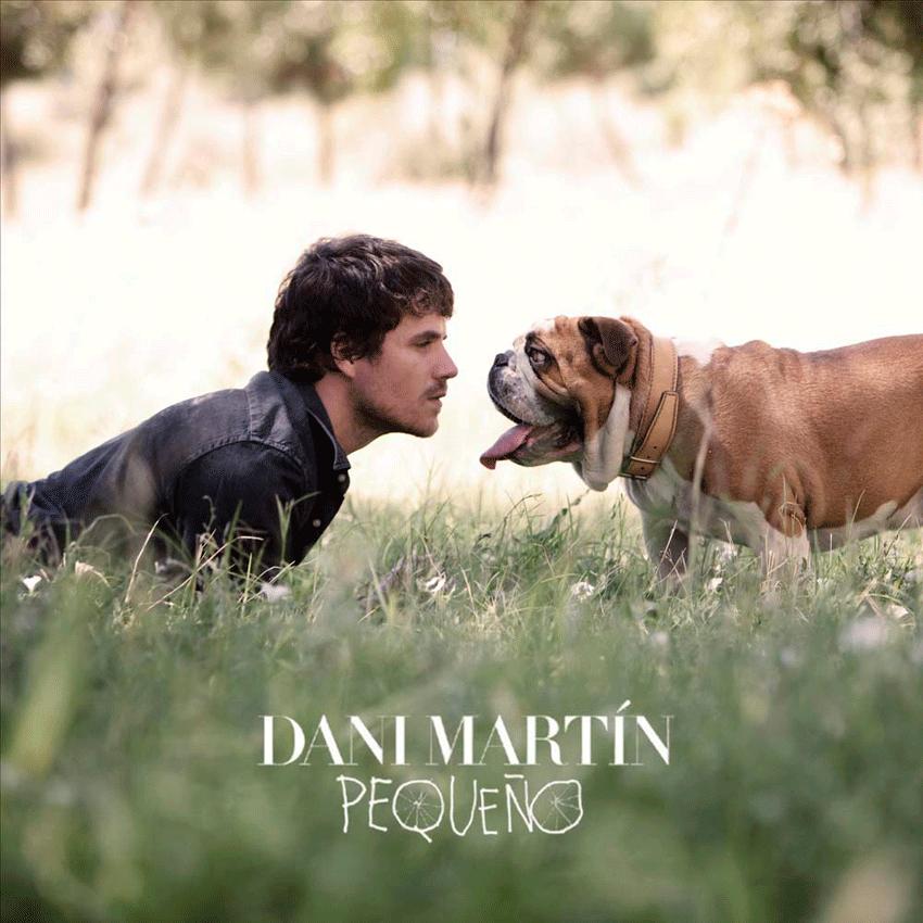 Portada del disco Pequeño de Dani Martín - Arenas de San Pedro - TiétarTeVe